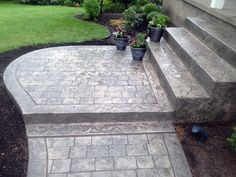 Stamped Concrete, Driveways, Patios, Foundations, Decorative Concrete