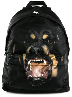 2559f5daf9 Givenchy Rottweiler Print Backpack - Twist n scout - Farfetch.com Cool  Backpacks