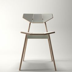 Facet Chair white £150 (stackable) Unto This Last