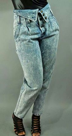 OMG I had a pair of these exact jeans--I loved them to pieces!