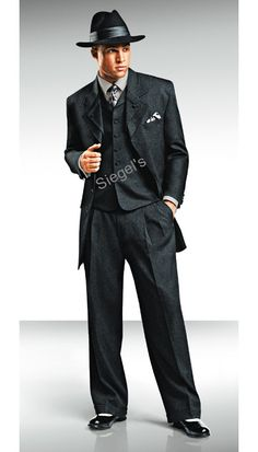 Gangster suit…this is what we had…so much fun. Gangster suit…this is what we had…so much fun. Zoot Suit Wedding, Wedding Dress Men, Wedding Suits, Wedding Attire, 1920s Wedding, Hair Wedding, Party Wedding, Wedding Bands, Gangster Suit