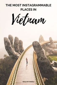 15 worthy places in Vietnam and how to get to them including Train Street, Golden Hand Bridge, Hoi An and our favourite secret spot on the Hai Van Pass. Hoi An, Cool Places To Visit, Places To Travel, Travel Destinations, Vietnam Destinations, Travel Tips, Vietnam Travel Guide, Asia Travel, Travel Photographie