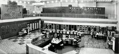 CONTROL ROOM OF THE SYNCHROPHASOTRON, C.1975