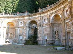 The gardens ( Atlas Fountain) Villa Aldobrandini