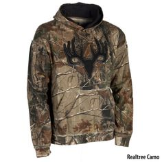 Points North Mens Camo Grinder Skull Hoodie - Gander Mountain