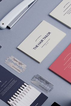 The Hair Tailor - hair and fashion stylist - business card by Pete Gardner