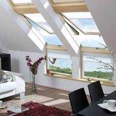 Resultado de imagen para ventanas cubierta inclinada