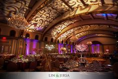 Pasadena Langham Huntington Hotel Wedding Venue | Rad and Theresa