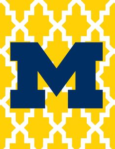 Want to add some maize and blue to your dorm room walls? Download these free, exclusive posters, made just for #dormspiration!