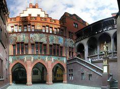 Basilea (interior Ayuntamiento). SUI.-