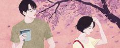 As ilustrações românticas desta artista coreana vão mexer com você