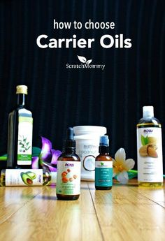 Carrier oils are a necessity for making your own natural body and skincare products, but do you know how to use them? Check out this in-depth post on how to choose carrier oils. Essential Oil Carrier Oils, Essential Oil Uses, Doterra Essential Oils, Young Living Oils, Young Living Essential Oils, Natural Oils, Natural Skin Care, Natural Healing, Natural Beauty