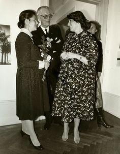 Quand la reine Silvia était enceinte: Madeleine. Silvia, Lennart Bernadotte et seconde épouse, Sonja.