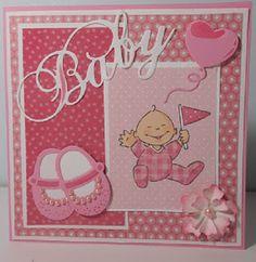 Crea+Ankie:+Baby+kaartje