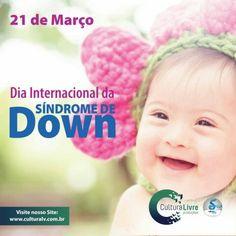 Dia Internacional da Síndrome de Down   #sindromededown #down  #alteraçãogenética #alteracaogenetica #genética #genetica #21deMarço #21deMarco #culturalivre #diainternacionaldasindromededown