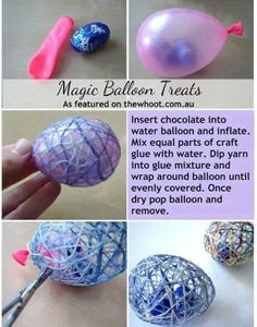 Magic Balloon Treats