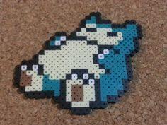 Snorlax Bead Sprite Pokemon 8 bit art by DCBPerlerSprites