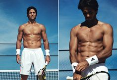 How I Got My Body - Pro Tennis Player: Fernando Verdasco: Diet Fernando Verdasco, Pro Tennis, Details Magazine, Tennis World, Tennis Workout, Celebrity Workout, The Other Guys, Sport Body, Workout Regimen
