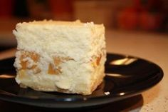 sernik ciężki z brzoskwiniami Hungarian Cake, Vanilla Cake, Cheesecake, Cakes, Kitchen, Food And Drinks, Cooking, Cake Makers, Cheesecakes
