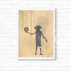 SALE Harry Potter dobby poster dobby prints by InstantGoodVibes