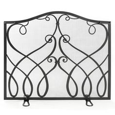Pilgrim Burnished Bronze Iron Gate Arched Fireplace Screen | Doors And  Screens | Pinterest | Iron Gates, Fireplace Screens And Screens