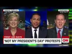 Not My President s Day  protesters rally