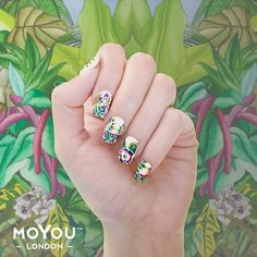 MoYou London Tropical Collection #NOTD