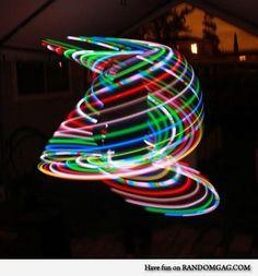 Sweet LED hula hoop