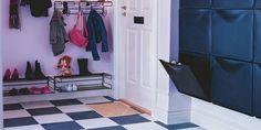 HYLLER NOK: Sørg for at det er nok plass til sko og støvler.