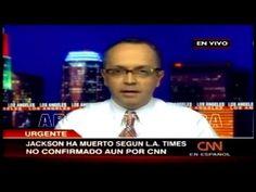 Noticia de la Muerte de Michael Jackson - CNN en Español ( 25 /junio /2009 )