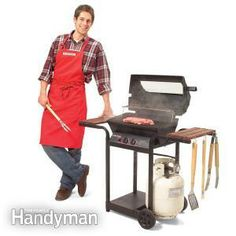 Want to fire up the grill this Labor Day but your grill isn't in the best shape? Don't miss out... here's Family Handyman's step-by-step instructions for how to fix up your gas grill so you can join in the fun this weekend. Happy Grilling!