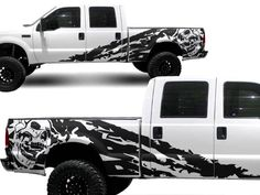NEW OEM 2009-2014 NISSAN FRONTIER PRO-4X OFF ROAD  DECALS RIGHT SIDE ONLY