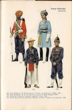 De Uniformes en color de Todo el Mundo