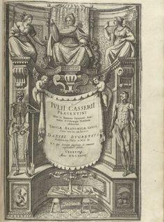 Adriaan van de Spiegel (http://www.pinterest.com/pin/287386019943684612/) and Giulio Casseri: De humani corporis fabrica libri decem - Title page.