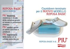 La linea Reposa Basic è una soluzione pratica e comoda per tutti.