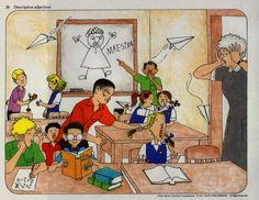 describe what is going on in this classroom Spanish Teacher, Spanish Classroom, Teaching Spanish, Teaching English, Spanish Lesson Plans, Spanish Lessons, Communication Pictures, Spanish Pictures, Ab Initio
