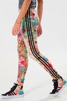 Legging Adidas Farm 3 Stripes Confete - BabadoTop 2b586b99352f7