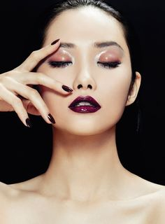 #Inspiration #Autumn #Makeup #Style #WineNails #BiographyTrend #MagicForest #BiographyCollection #Biography