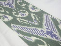 cotton ikat fabric ikat fabric ikat fabric by the yard by SilkWay, $8.90