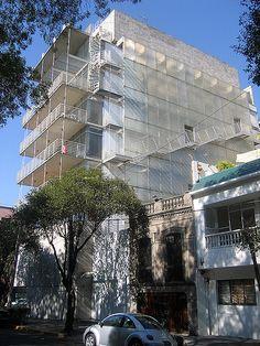 Enrique Norten, Appartment Haus Parque España, Mexico City