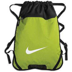 Nike Team Training Gym Sack at Foot Locker Nike Sports Bag, Sports Bags, Backpack Bags, Drawstring Backpack, Hello Kitty, Foot Locker, Workout Gear, My Bags, Travel Bags