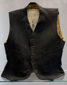 The vest belonging to a third class passenger named William Henry Allen