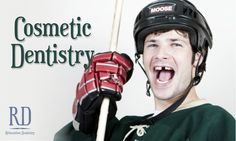 Sports accidents happen more often than not. We offer esthetic all-porcelain bridges to replace missing front or back teeth! #Sports #Dentist