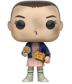 From Stranger Things, Eleven with Eggos(styles may vary), as a stylized POP vinyl from Funko! Figure stands 3 inches and comes in a window display box. Check out the other Stranger Things figures from Funko! Collect them all! Marvel Daredevil, Marvel Avengers, Marvel Comics, Pop Marvel, Serie Stranger Things, Stranger Things Funko Pop, Stranger Things Netflix, Disney Pixar, Pop Disney
