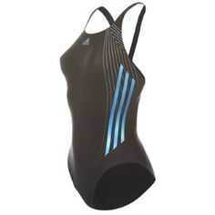 adidas 3 Stripe Technical Swimsuit Ladies - SportsDirect.com