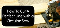 how to cut a straigh
