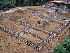 Discover ways to make a Baldrame or Working Shoe! Concrete Structure, Building Structure, Building Design, Building A House, Concrete Footings, Concrete Stairs, Concrete Houses, Reinforced Concrete, Framing Construction