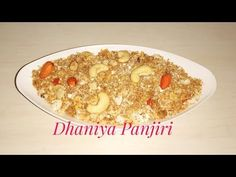 Dhania ki panjeeri is very femurs Prasad especially make at Janmastmi made with coriander seeds, grated coconut, dry fruits and sugar. Enjoy the awesome recipe
