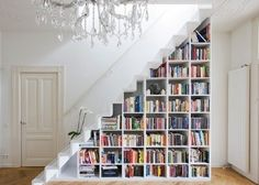 How to use the space under the stairs