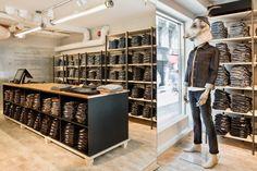 Nudie Jeans Repair Shop, Gothenburg – Sweden » Retail Design Blog